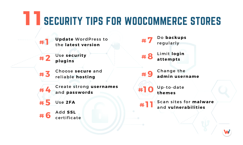 11 security tips for WooCommerce stores
