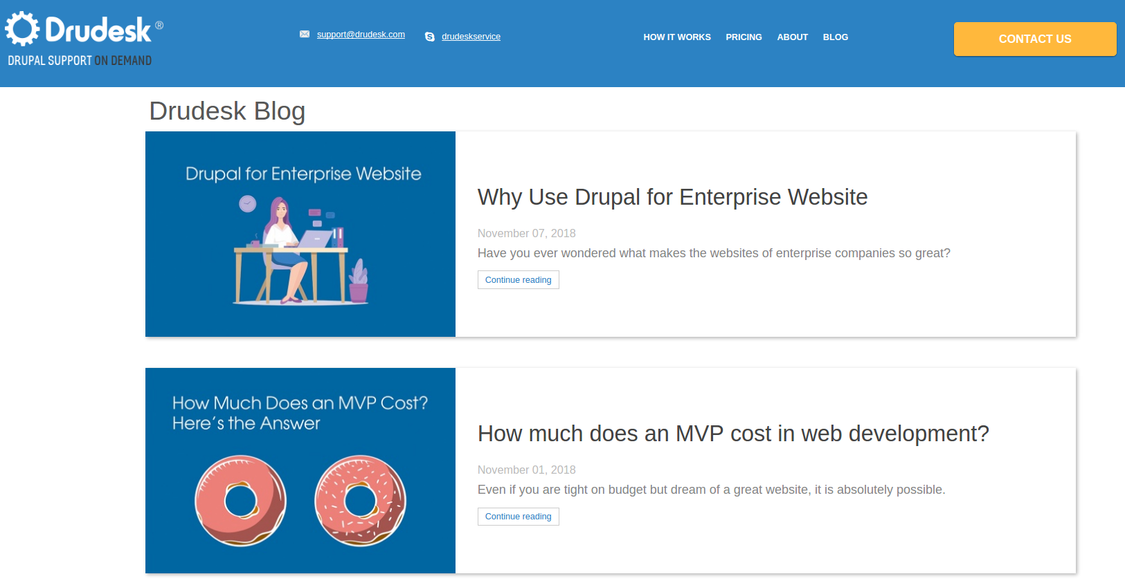 Drudesk migration to Drupal 8