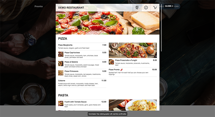 Restaur ant Menu – Food Ordering System Plugin for restaurant websites
