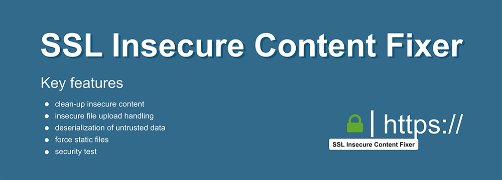 SSL Insecure Content Fixer plugin