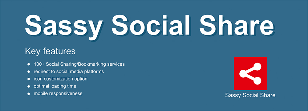 Sassy Social Share plugin