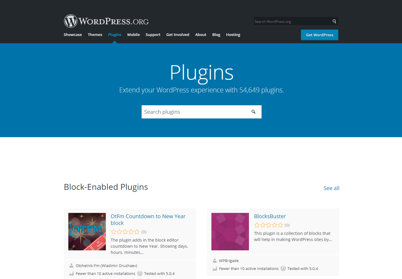 WordPress has plugins for every feature
