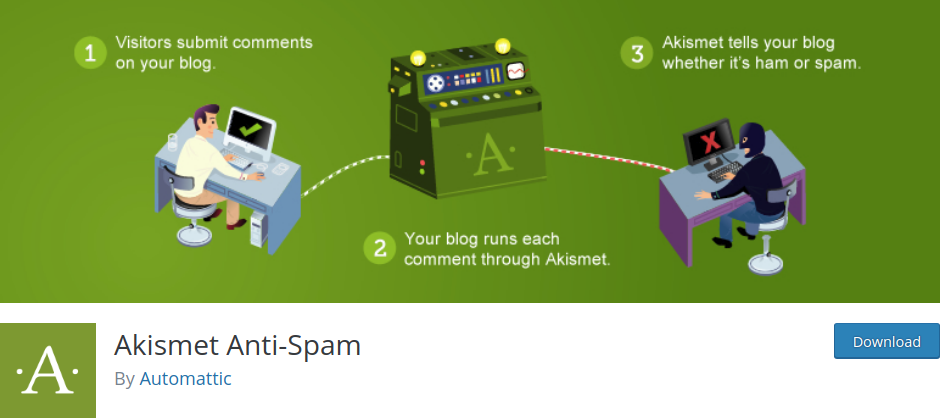 Akismet Anti-Spam plugin WordPress
