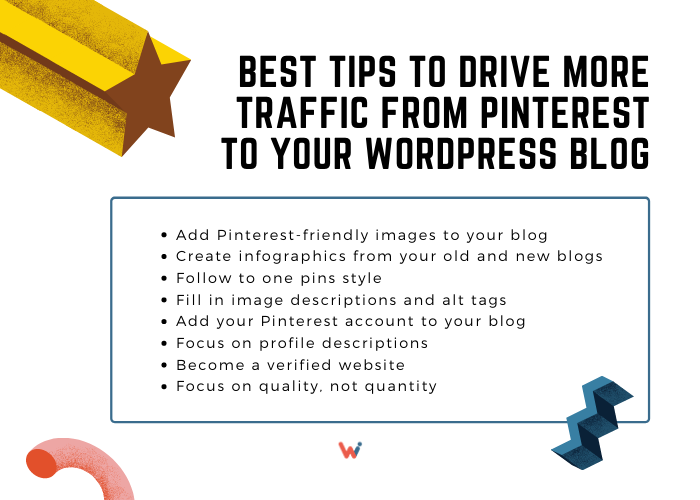 Best tips to drive more traffic from Pinterest to your Wordpress blog