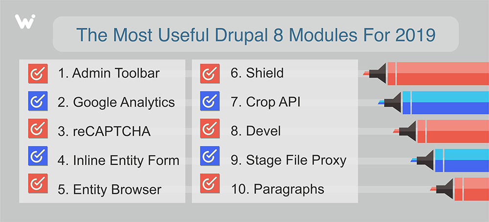 Drupal 8 Modules You Should Have in 2019