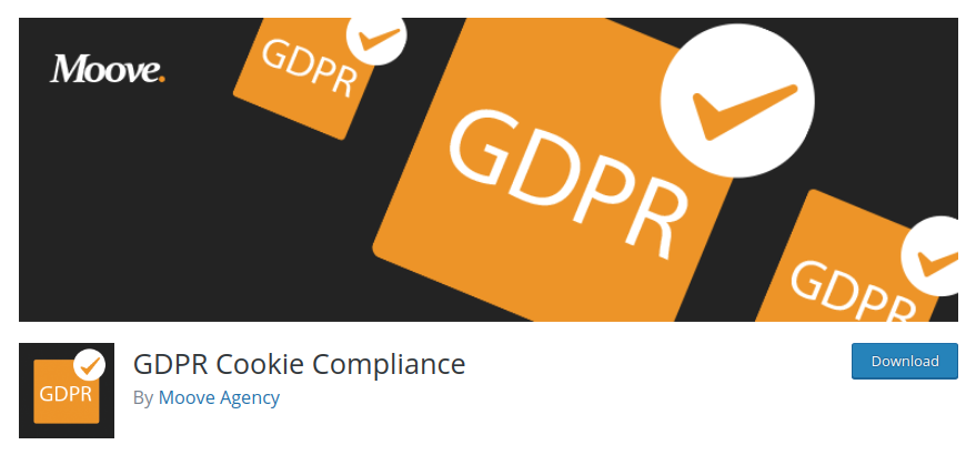 GDPR cookie compliance plugin for WordPress
