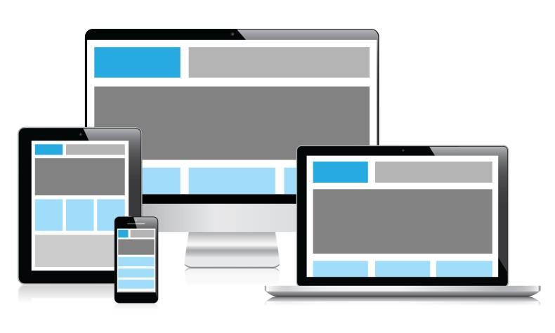 responsive web design to make your website user-friendly