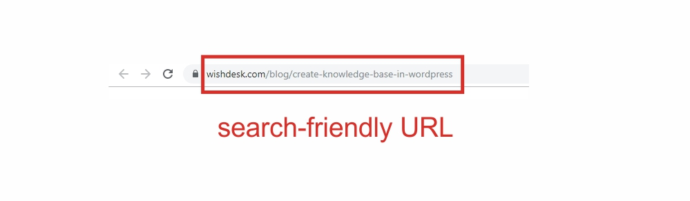 search-friendly url