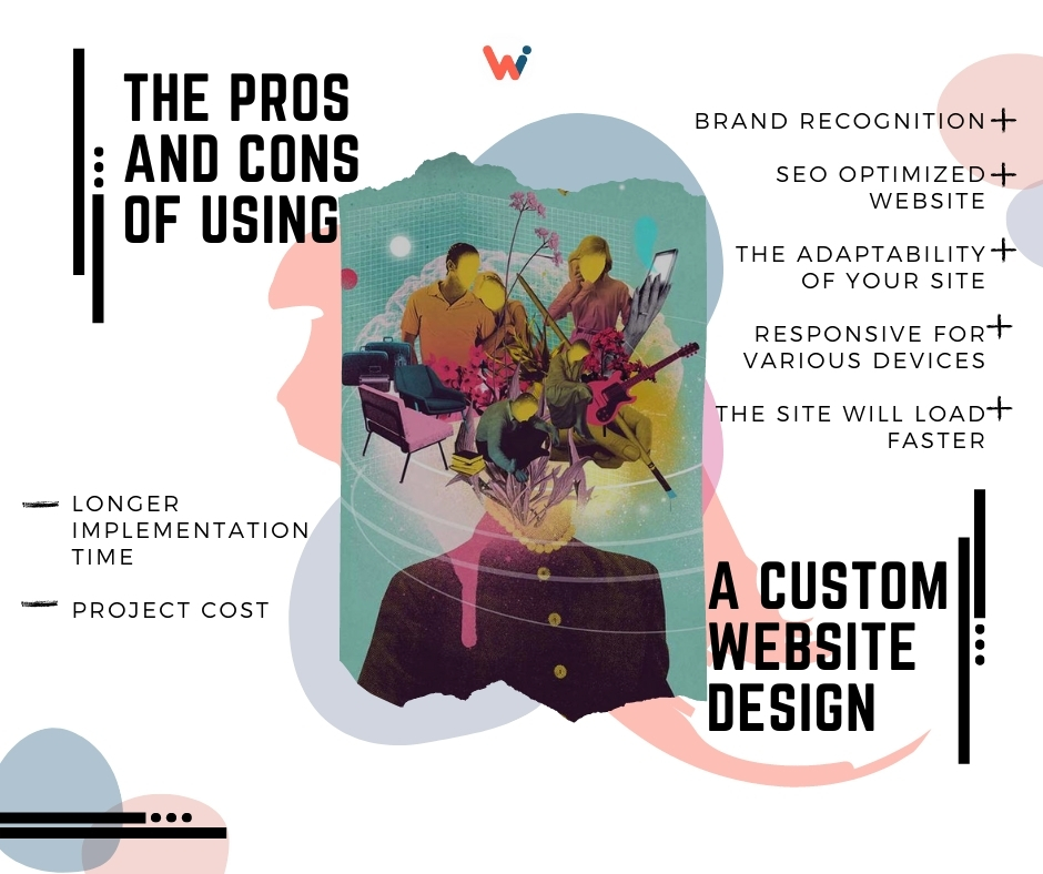 The pros and cons of using a Custom Website Design