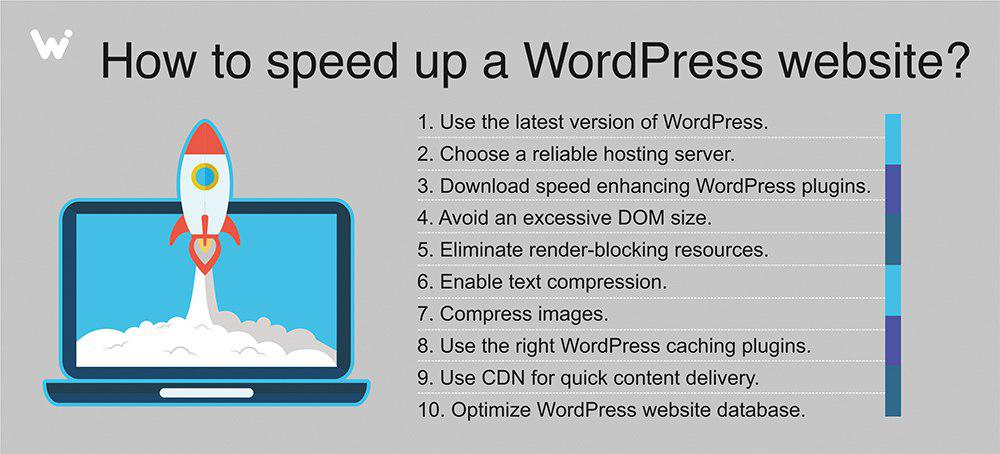tips to speed up WordPress website
