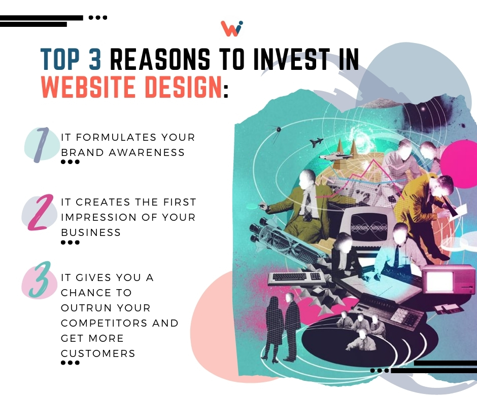 reasons to invest in website design