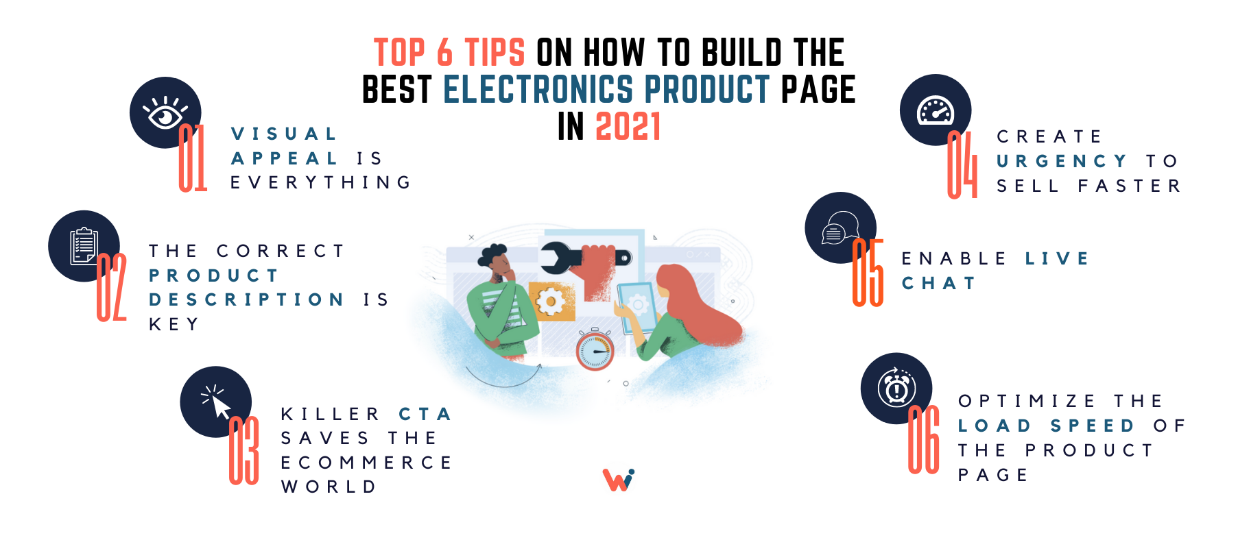 Top 6 tips on how to build the best electronics product page in 2021